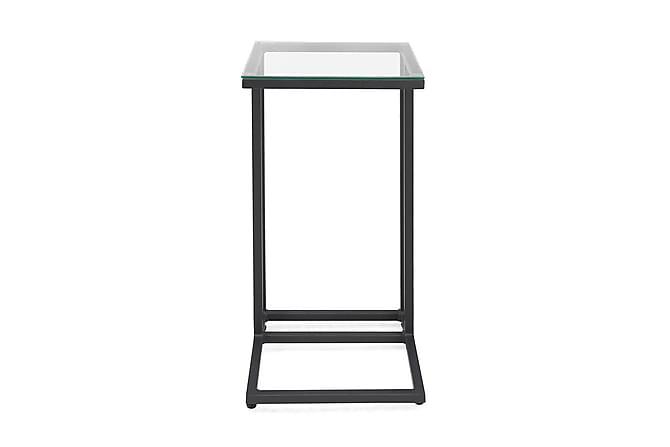 Sidobord Sierra 35x35 cm - Svart - Utemöbler - Utebord - Soffbord