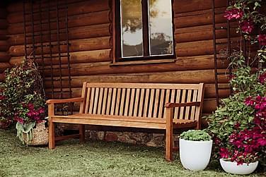 Trädgårdsbänk Java 180 cm