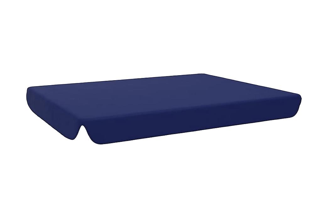 Reservtak för hammock blå 192x147 cm - Blå - Utemöbler - Soffor & bänkar ute - Hammockar