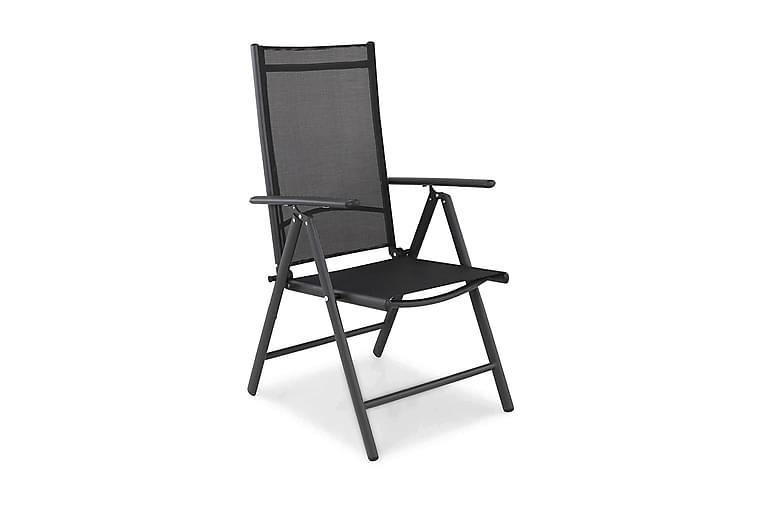 Positionsstol Maggie - Svart - Utemöbler - Stolar & Fåtöljer ute - Positionsstolar